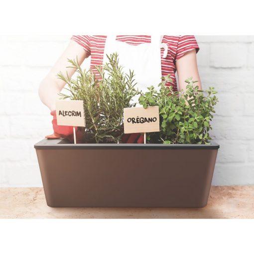 Chậu nhựa trồng cây tự tưới Tramontina 12 lít 05